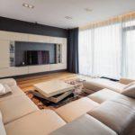 декор стен в гостиной дизайн