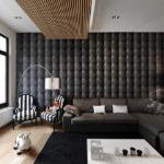 декор стен в гостиной фото интерьер