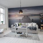 декор стен в гостиной идеи интерьер