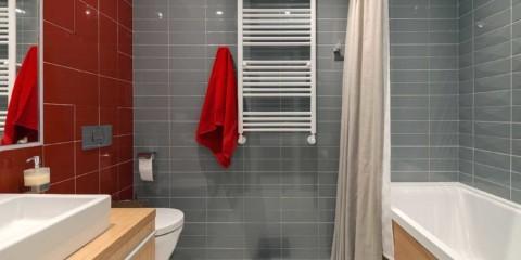 дизайн стен в ванной