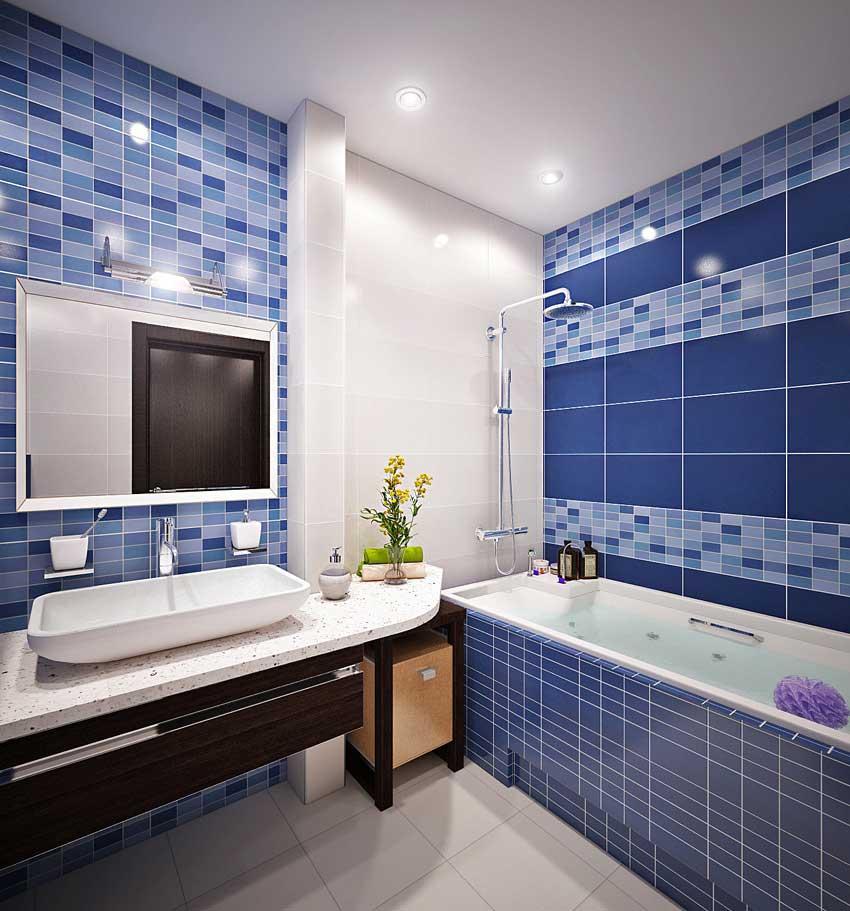 дизайн ванной 4 метра фото