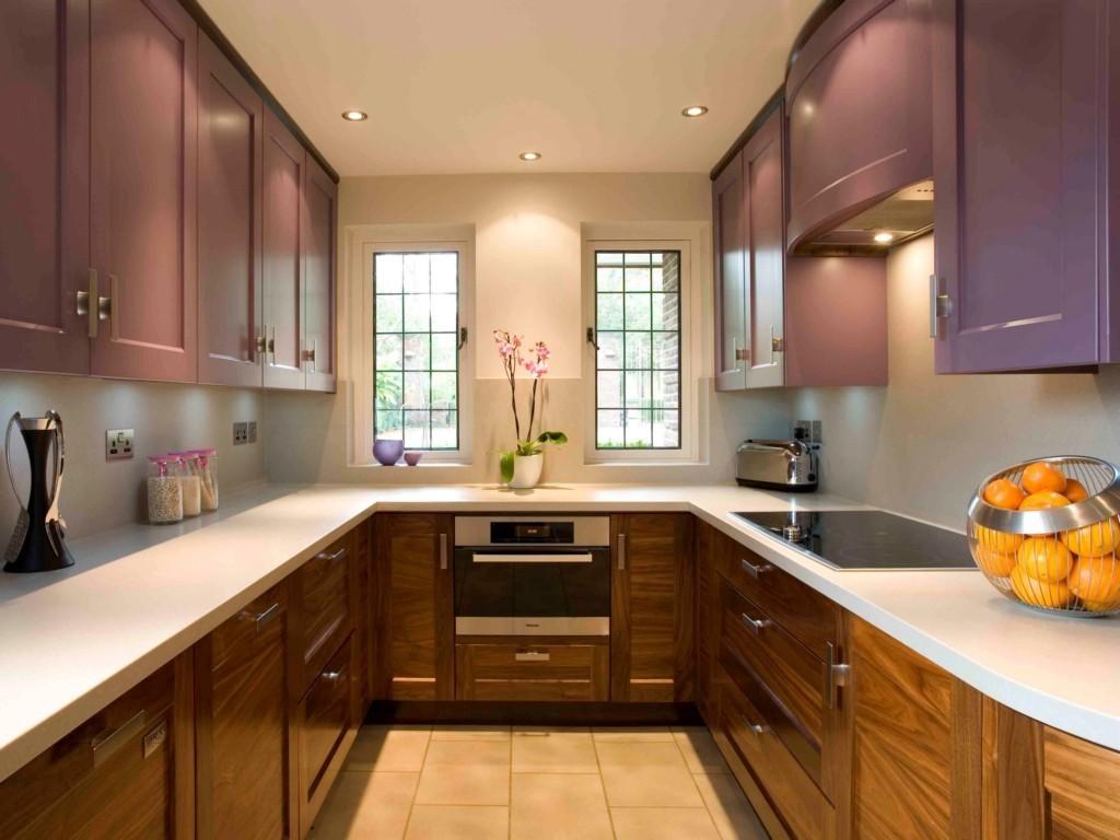п-образный гарнитур в кухне