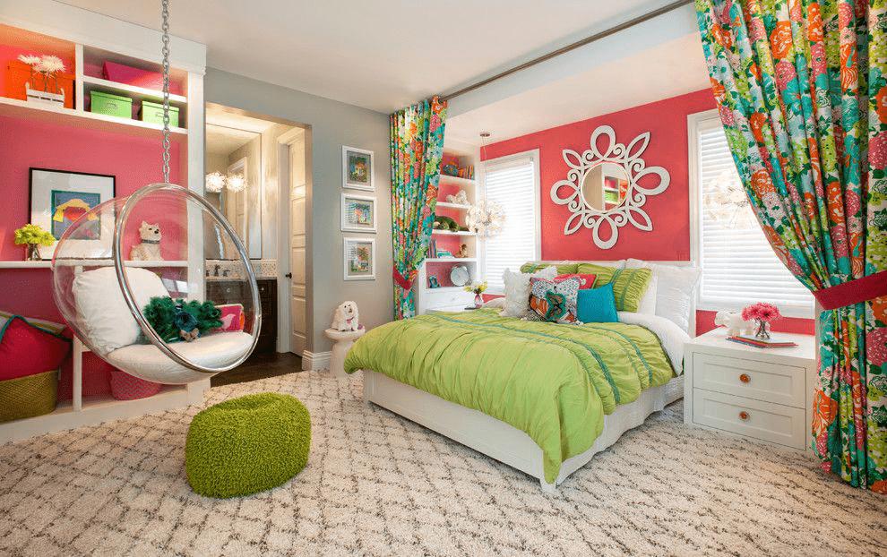 идеи дизайна для комнаты девочки