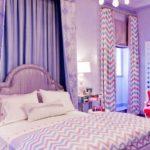 комната для девочки подростка сиреневого цвета