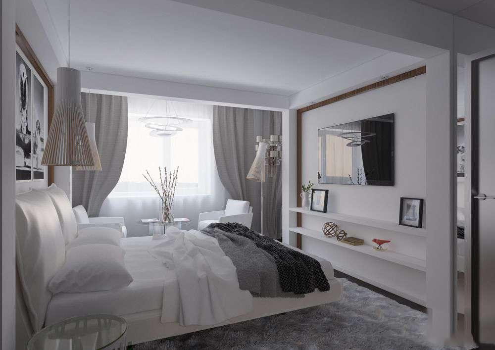 Декор спальни электроповодка