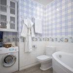 особенности дизайна ванной совмещенной с туалетом