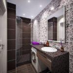 ванная комната 5 кв м