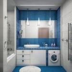 ванная комната 5 кв м цветовое решение