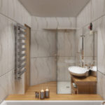 ванная комната 5 кв м фото интерьера