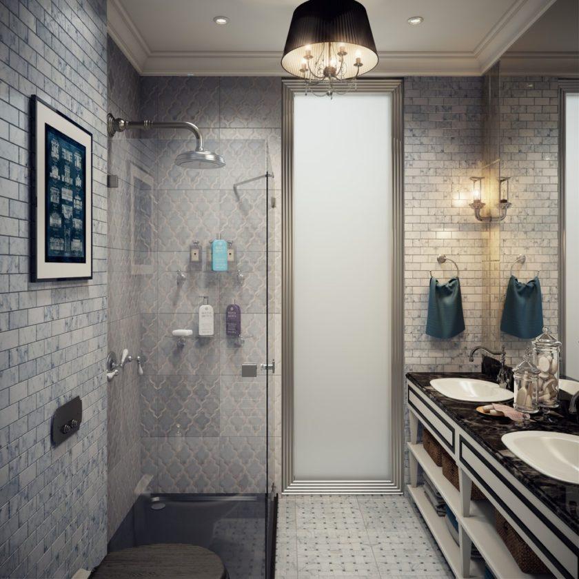 ванная 5 кв м с двумя умывальниками