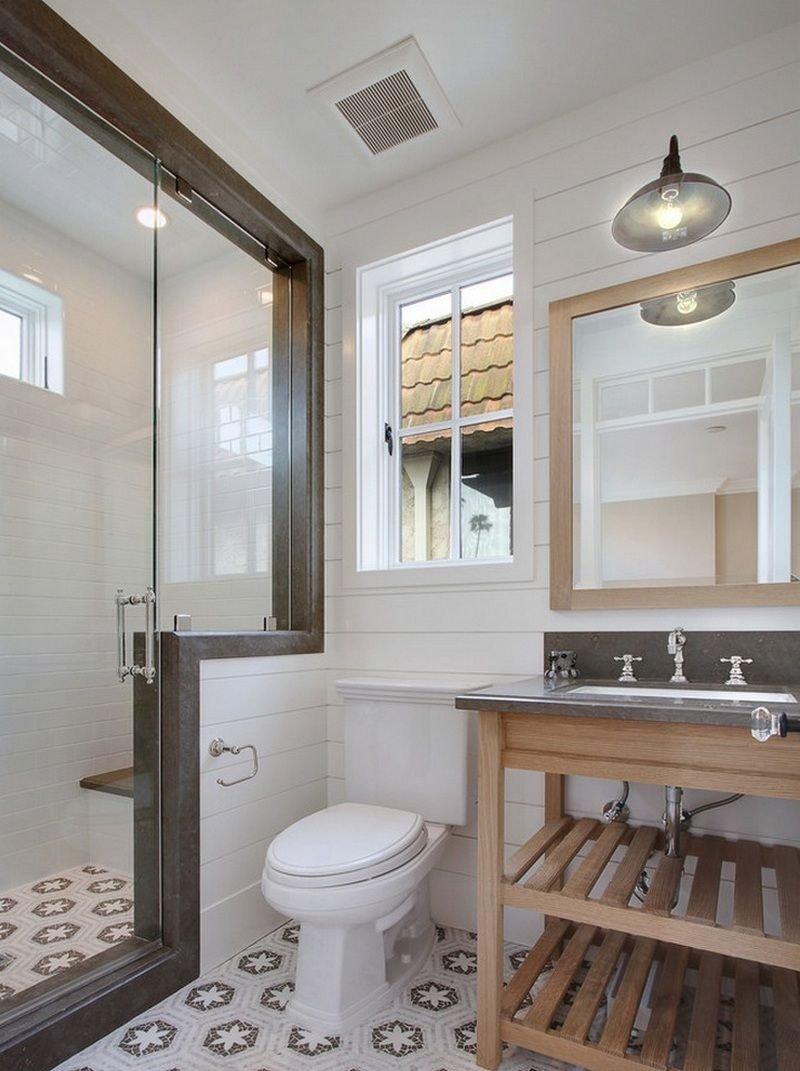 Большая ванная комната вытяжка
