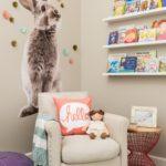 Декор детской комнаты 3d-кролик