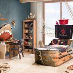 Декор детской комнаты бухта пирата