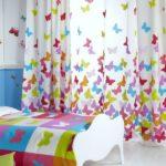 Декор детской комнаты царство бабочек