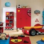 Декор детской комнаты для юного автогонщика