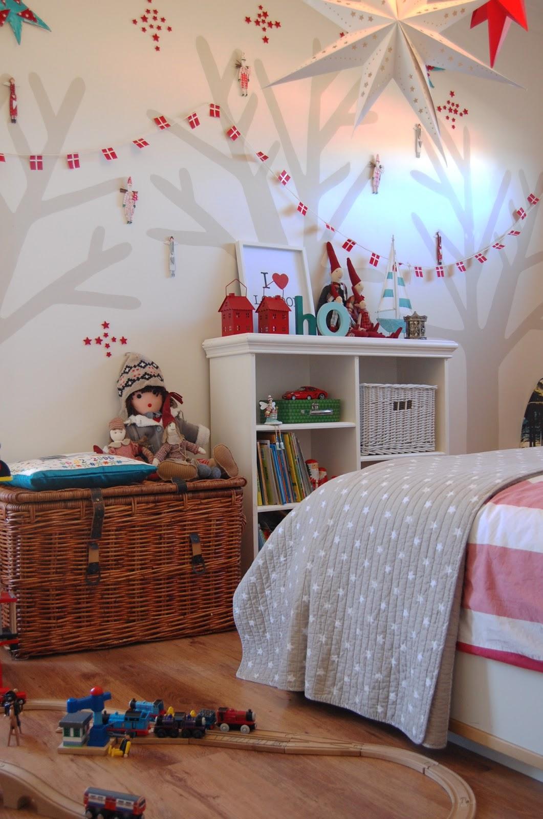 Декор детской комнаты картонные звездочки