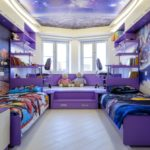 Декор детской комнаты космическая тема