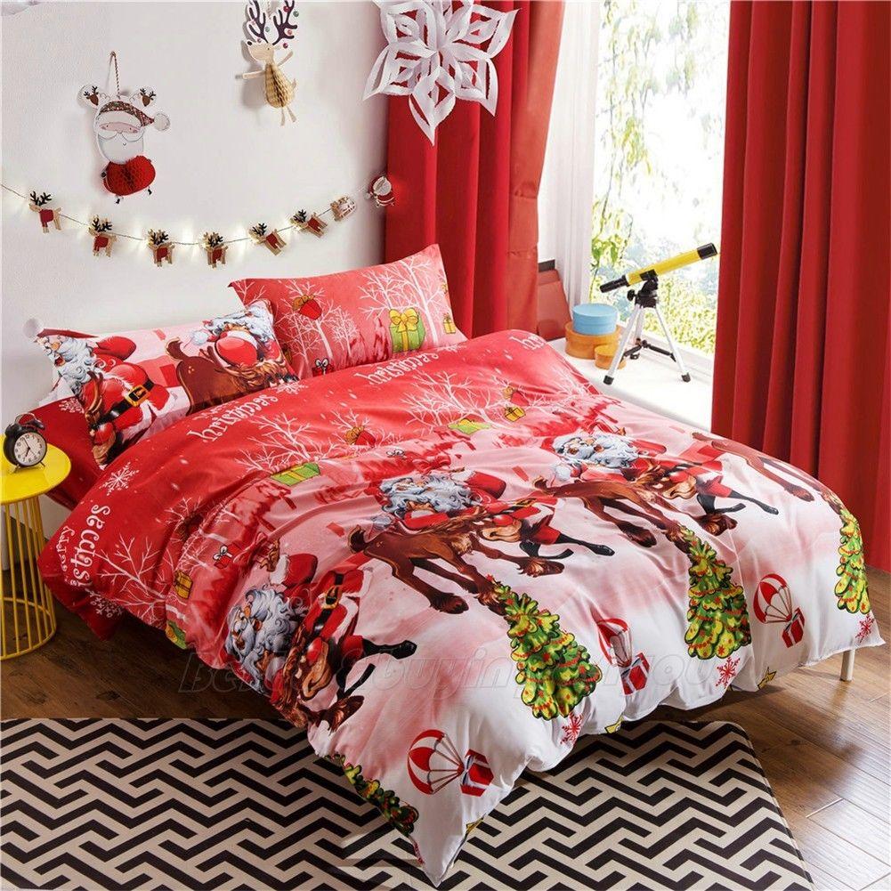 Декор детской комнаты новогодний спальный комплект
