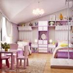 Декор детской комнаты светлорозовые тона