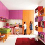 Декор детской комнаты все цвета радуги