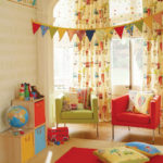 Декор детской комнаты ящики-кубики флажки-гирлянды
