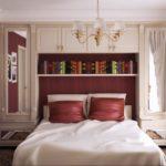 Декор маленькой спальни в английском стиле