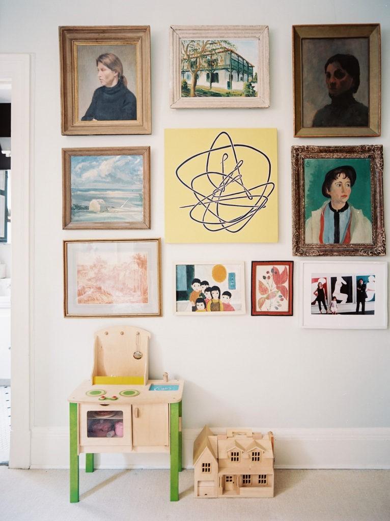 Декор в детской комнате детские картины