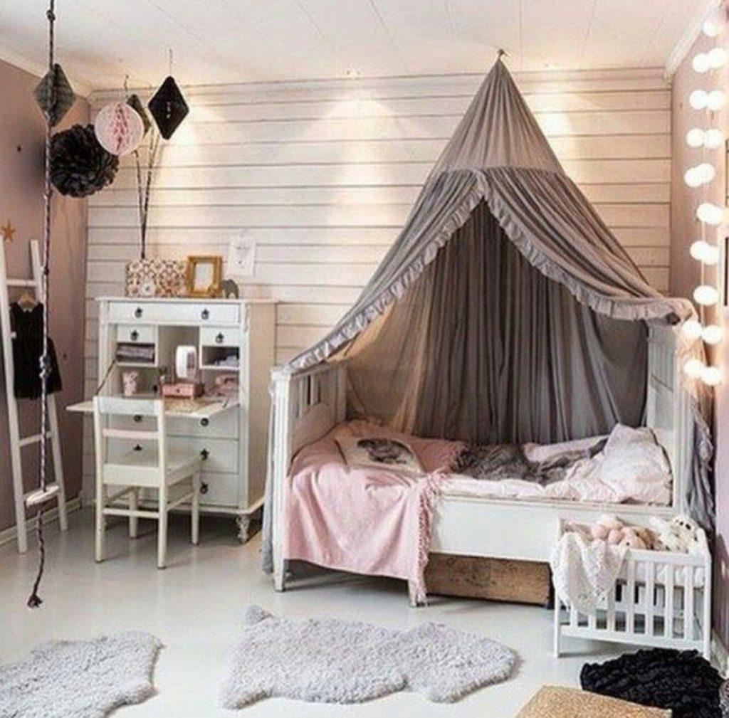 Декор в детской комнате девочка