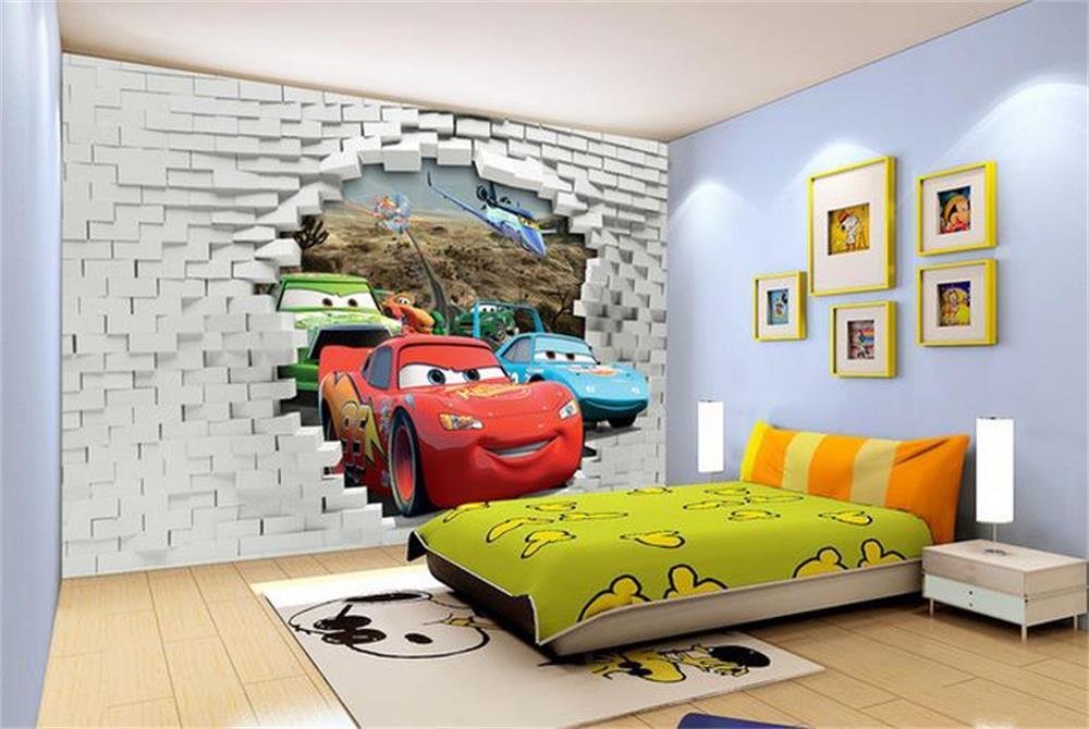 Декор в детской комнате фотообои