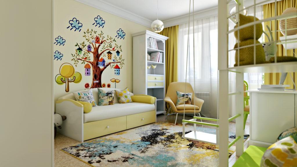 Декор в детской комнате важен для ребенка