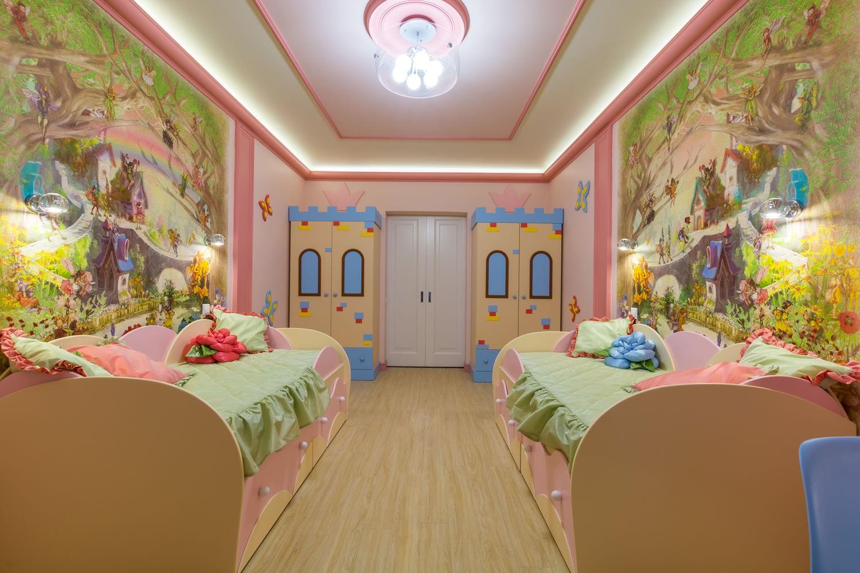 Детская комната дизайн для двух девочек картинках