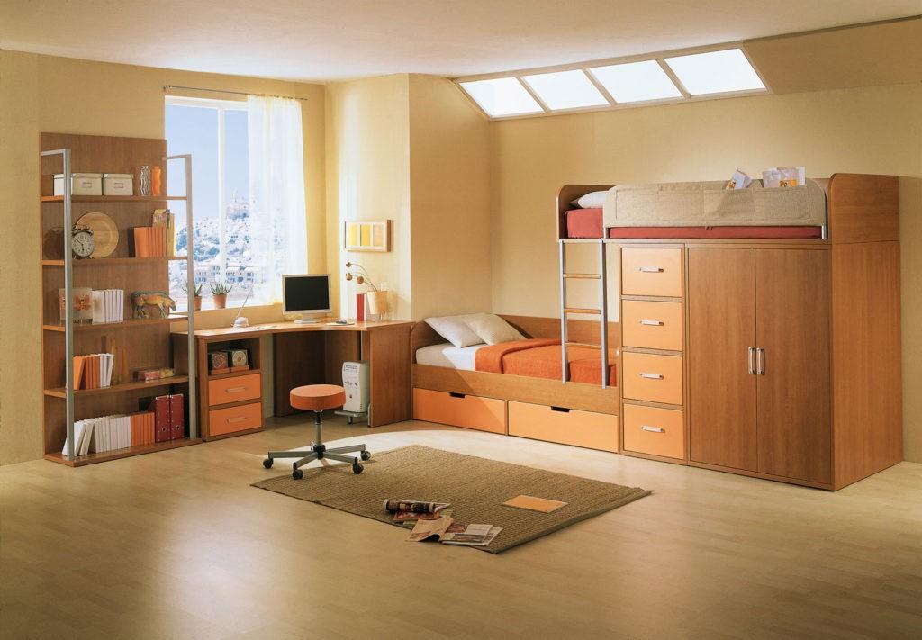 Дизайн детской комнаты для двух разнополых детей основные зоны