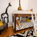 Дизайн детской комнаты для двух разнополых детей в ориенталистком стиле