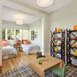 Дизайн детской комнаты для двух разнополых маленьких детей