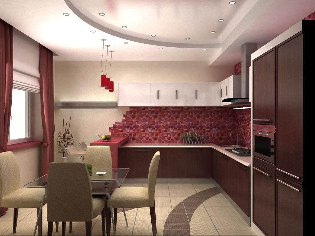 Дизайн кухни в современном стиле контемпорари