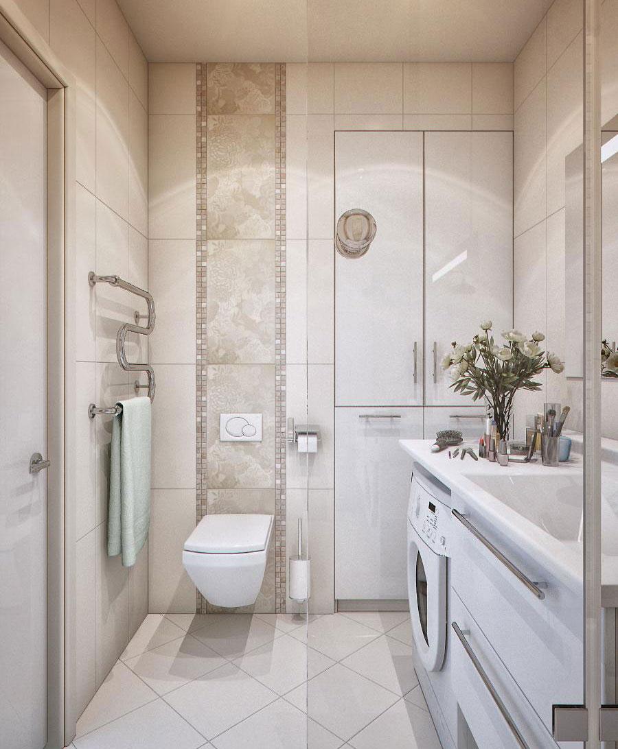 Дизайн ванной комнаты 6 кв м комфортное решение