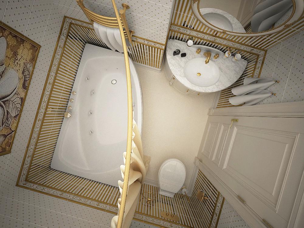 Дизайн ванной комнаты 6 кв м неправильные размеры