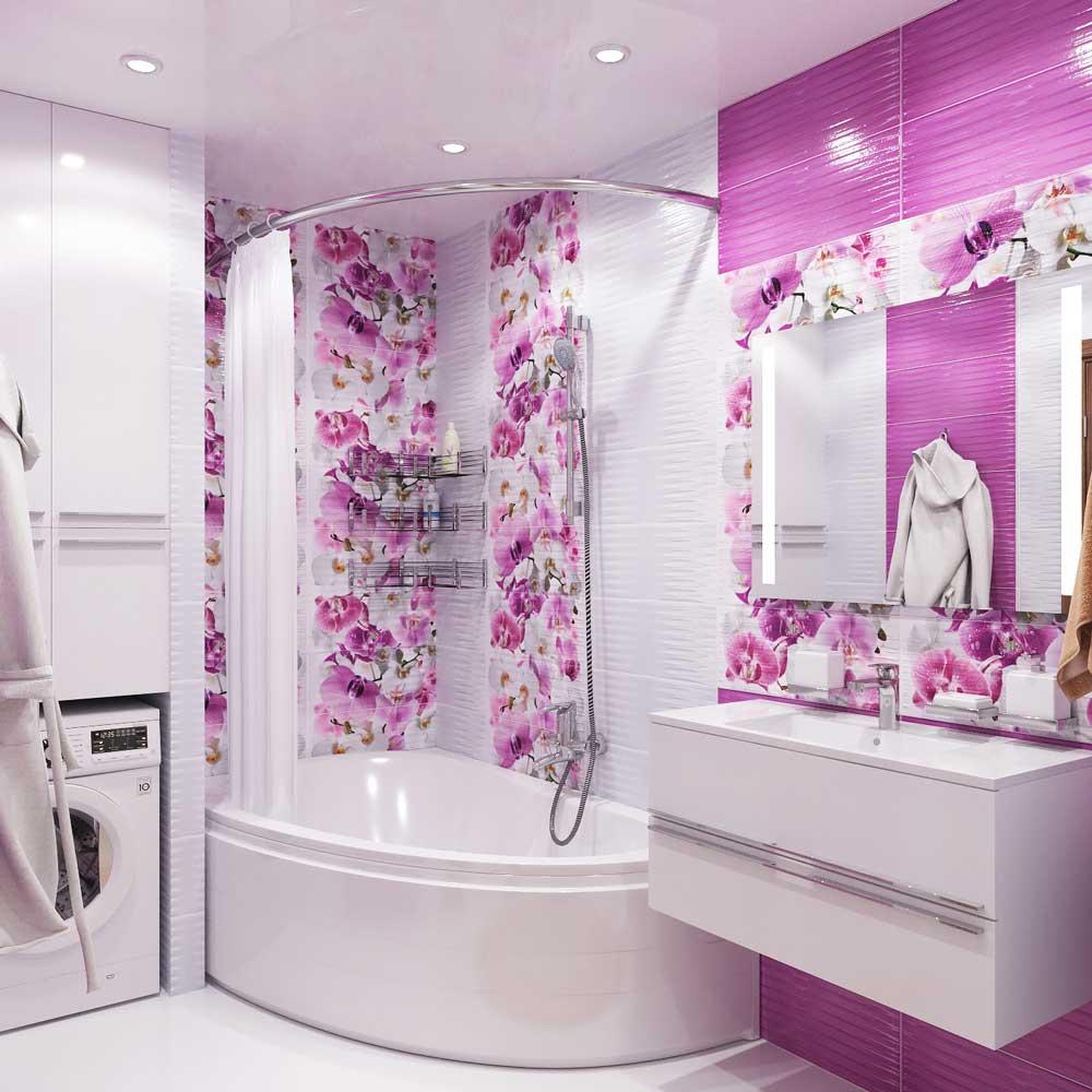 Дизайн ванной комнаты 6 кв м широкий выбор цвета