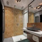 Дизайн ванной комнаты 6 кв м стиль лофт