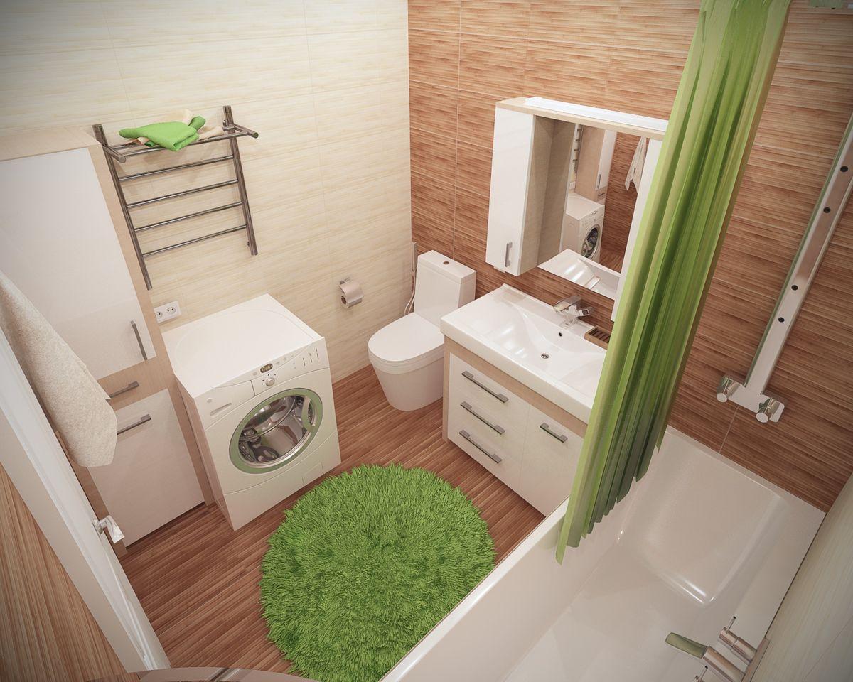 Дизайн ванной комнаты 6 кв м влезет все