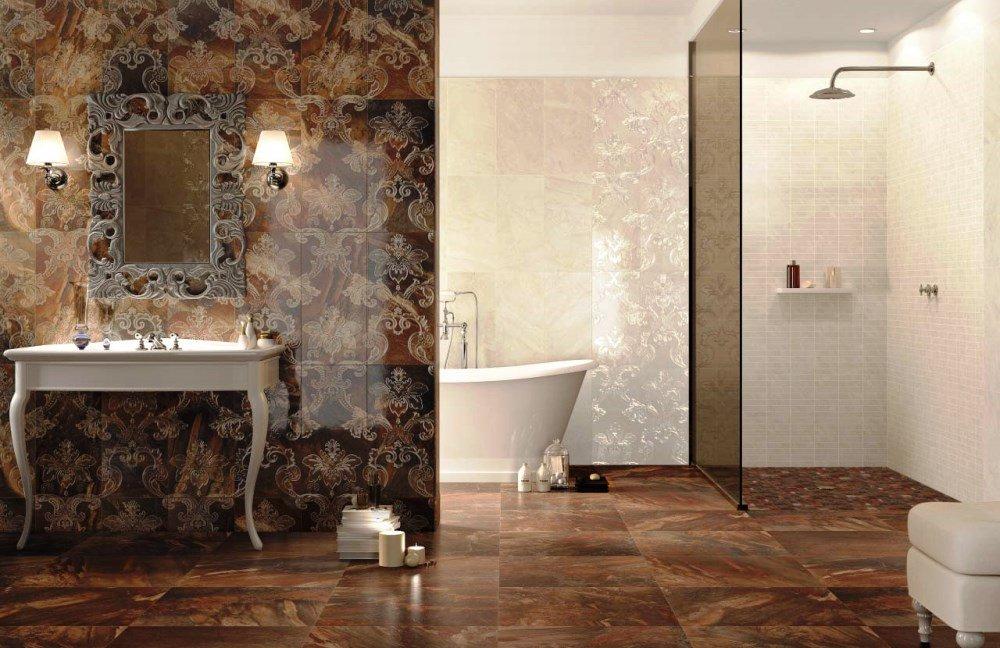 Дизайн ванной комнаты эклектика