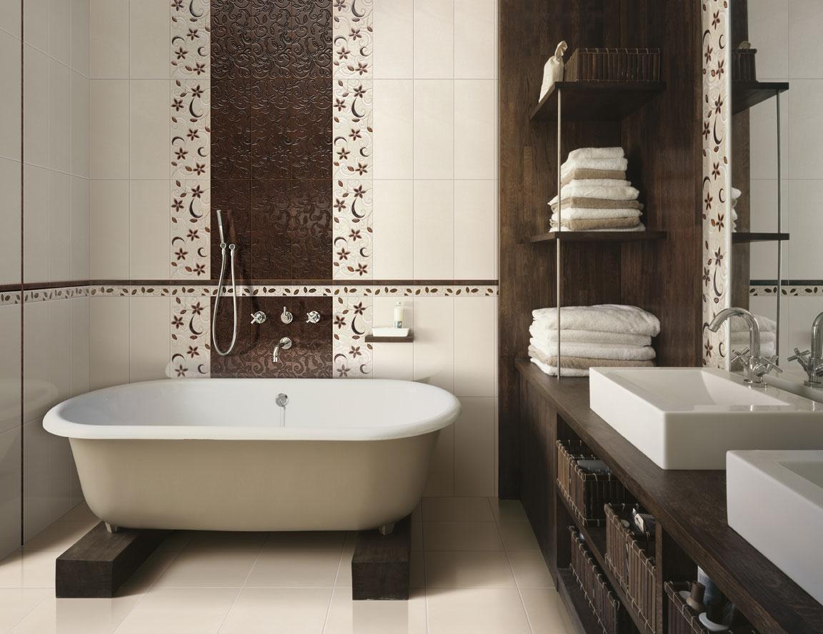 Дизайн ванной комнаты в частном доме с функциональной мебелью
