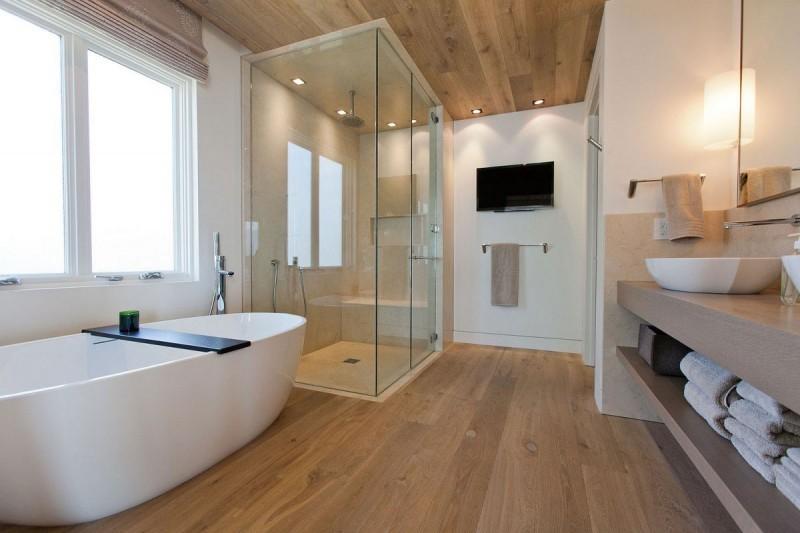 Дизайн ванной комнаты в частном доме с важными мелочами