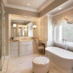 Дизайн ванной комнаты в частном доме в английском стиле