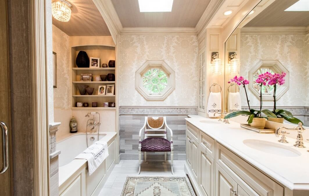 эргономичный дизайн ванной