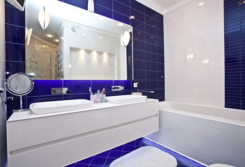 красивый дизайн ванной 4 кв м