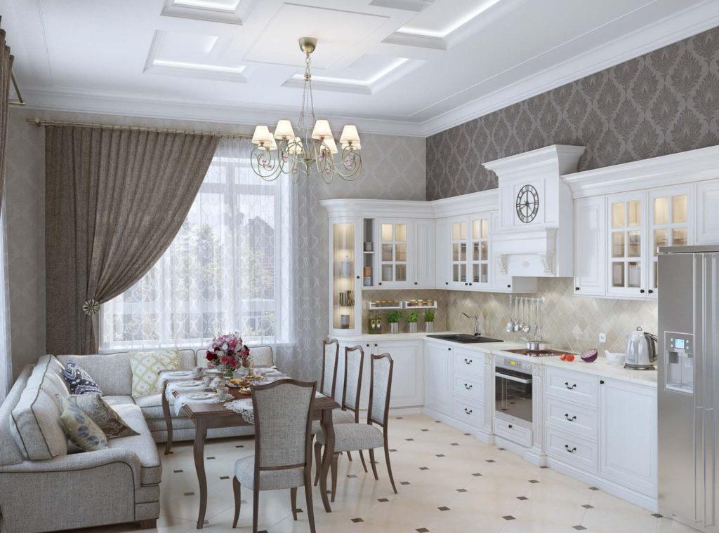Современная кухня классический стиль