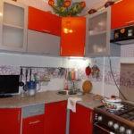 Современная кухня угловая конфигурация в городской квартире
