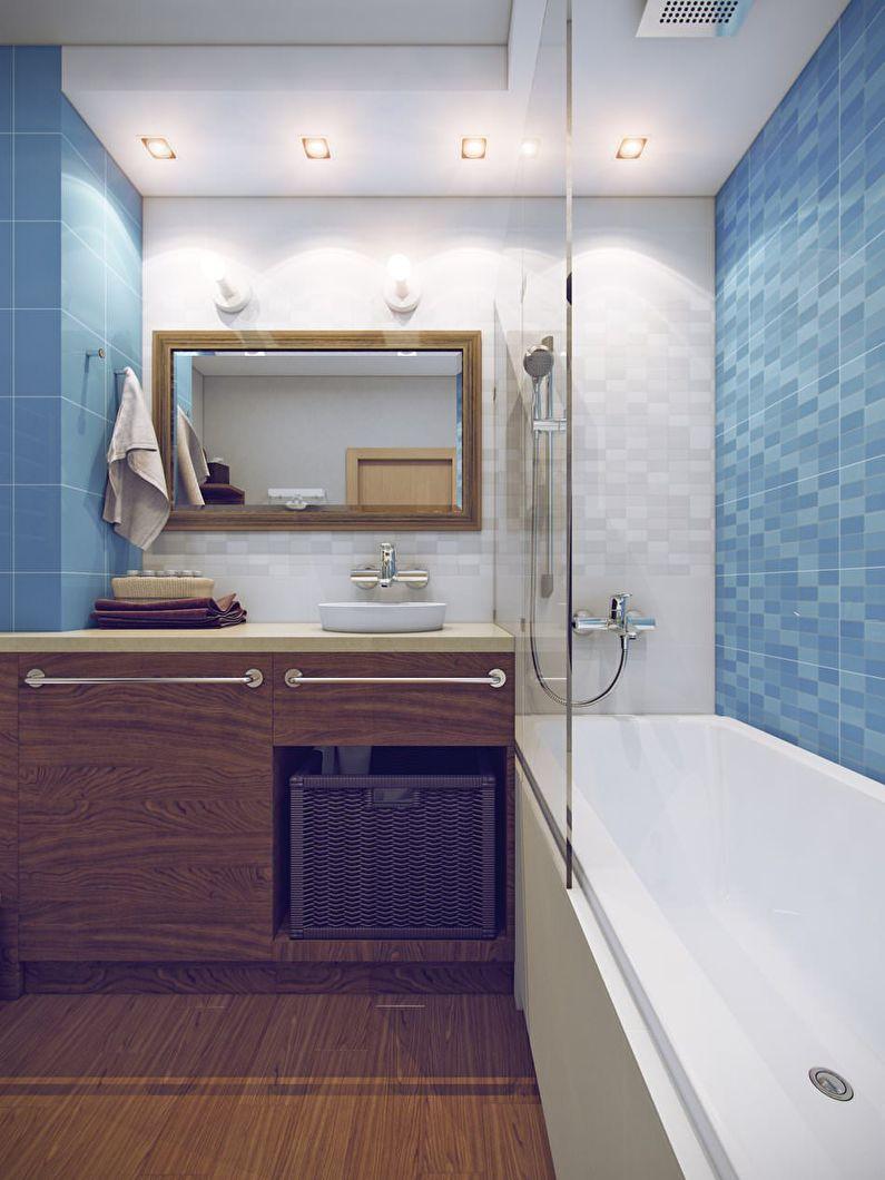 фото ванной 3 кв м