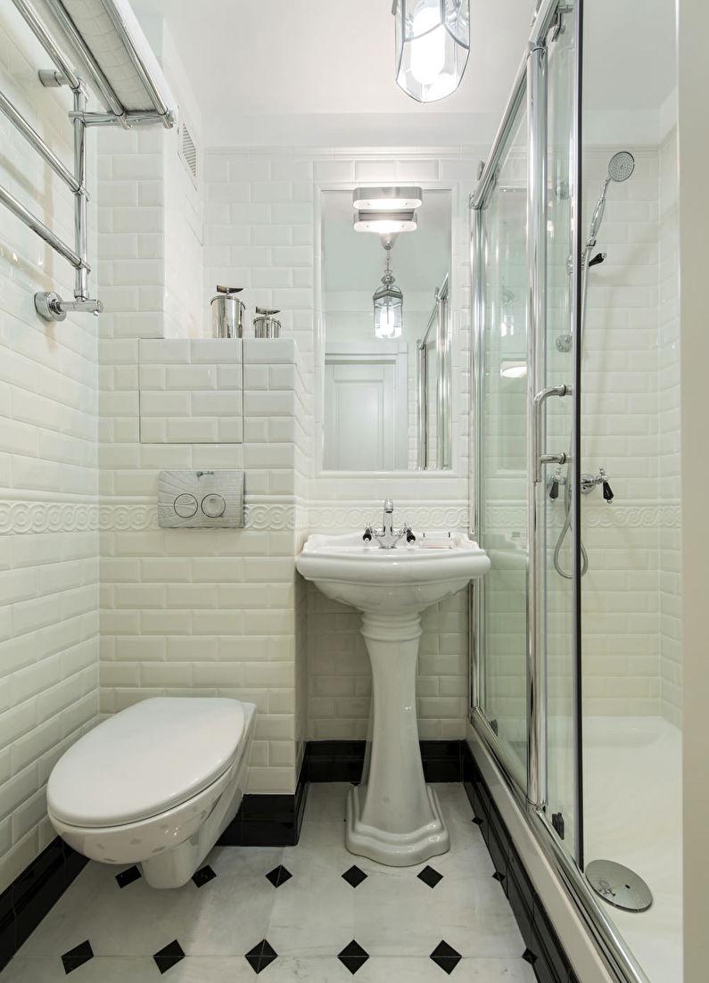 интерьер ванной 3 кв м